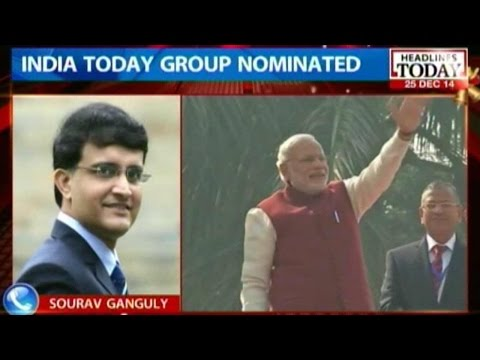 Sourav Ganguly on being nominated for 'Swachh Bharat Abhiyaan'