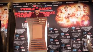 Andy Lee Post-Fight Press Conference