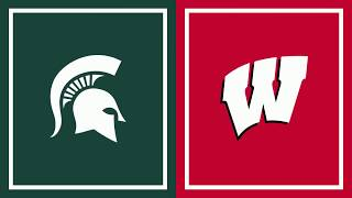 First Half Highlights: Wisconsin at Michigan State | B1G Basketball
