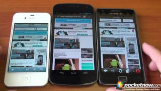 Samsung Galaxy Nexus Browser Speed Test