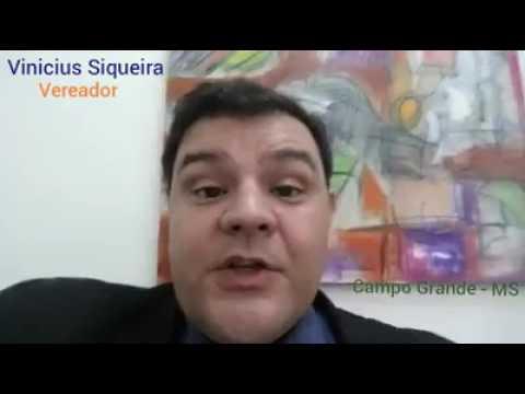 Vereador Vinicius Siqueira questiona repasse feito à ACP