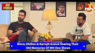 Binnu Dhillon & Karmjit Anmol Sharing Their Old Memories Of MH One Shows || Domino's  Comedy House