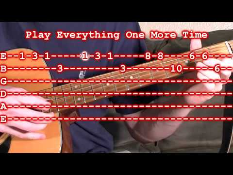 Silent Night Guitar Lesson - Easy Beginner Guitar Tab
