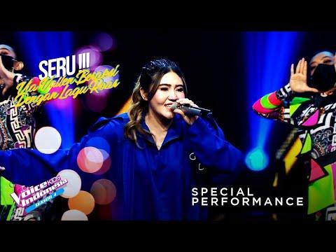 Download Lagu Via Vallen - Roar   Special Performance   The Voice Kids Indonesia Season 4 GTV 2021.mp3