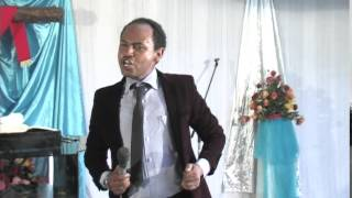 Pastor Henok, Zemari Biniyam and Bethelhem in Gofa Medhanialem Church - AmlekoTube.com