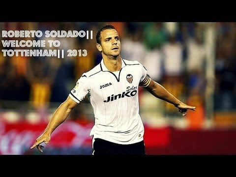 Roberto Soldado|| Welcome to Tottenham|| 2013