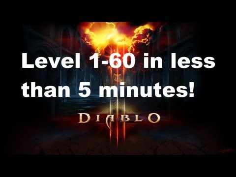 Diablo 3 Level 1-60 in less than 5 minutes!