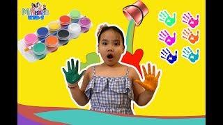 CÙNG BÉ CHƠI MÀU NƯỚC | Bộ màu nước thần kỳ cho bé/ Minh Anh chơi tô màu ❤️❤️❤️❤️❤️