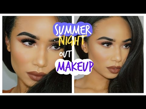 Summer Night Out Makeup  Full Coverage Hyper pigmentation & Acne