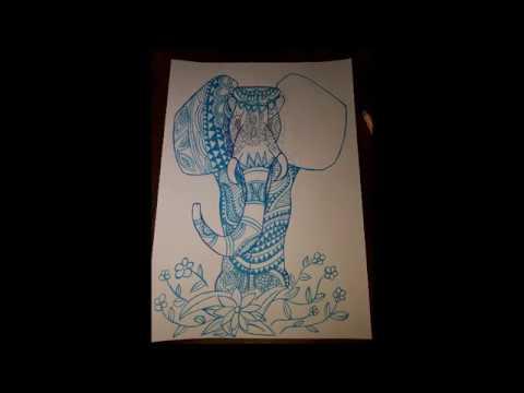 Elefánt Rajz #elefánt #elephant #drawing #pen