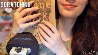 ASMR ♥ SCRATCHING! (long natural nails) [No Talking]