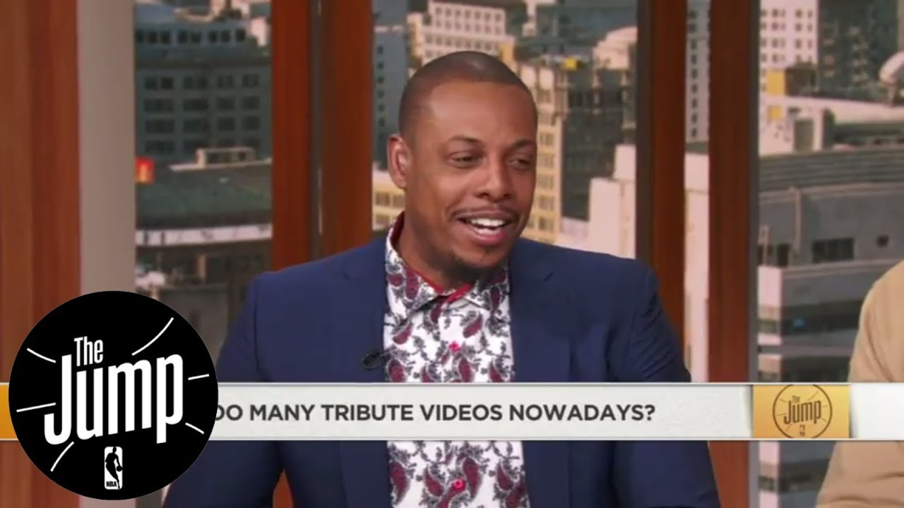 Pierce would prefer not to see Isaiah tribute video on jersey retirement night | The Jump | ESPN