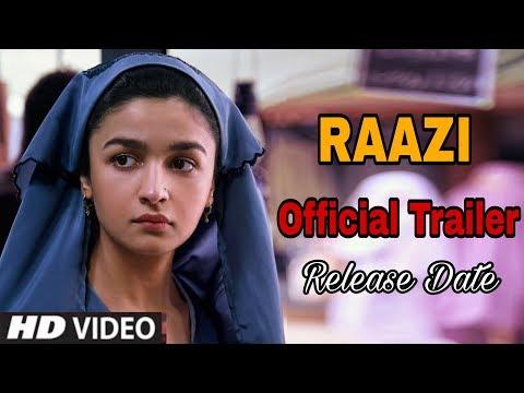 Raazi Official Trailer | Release Date | Alia Bhatt,  Vicky Kaushal thumbnail
