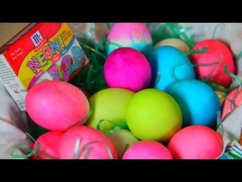 How to make Easter Egg art!