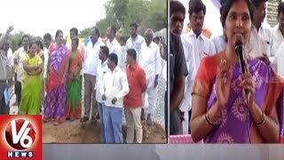 Dy Speaker Padma Devender Reddy Inaugurates Development Works In Medak District