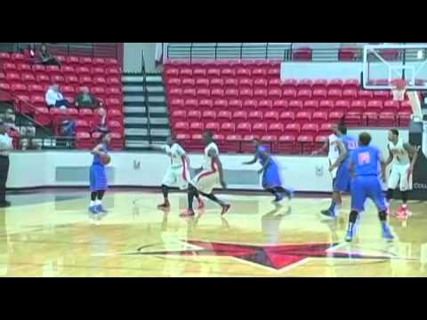 Lee College  vs  Angelina College Basketball 2014