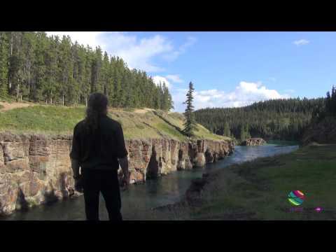 Whitehorse Wilderness City Miles Canyon Yukon Canada