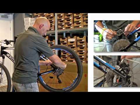 Hoe stel je de remmen van je fiets af?
