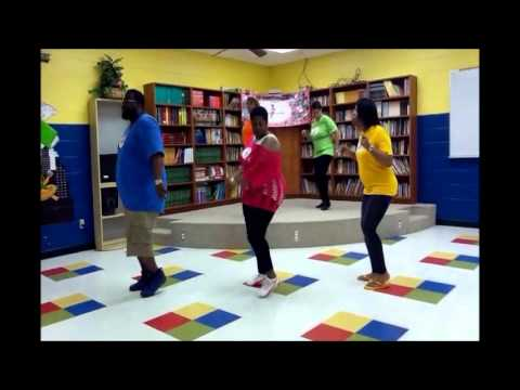 Zydeco Bounce Line Dance - Instructions video