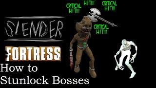 TF2   Slender Fortress   How to Stunlock Bosses