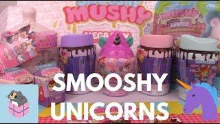 NEW Smooshy Mushy Unicorn Series! Series 4 Blind Boxes +  Big Present Opening from SmooshyMushy!