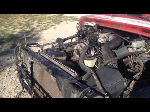 1963 F100 Full Crown Victoria Frame Swap