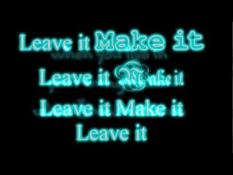 Leave It All To Shine - Icarly - Victorious - Lyrics On Screen Full Song Hd video