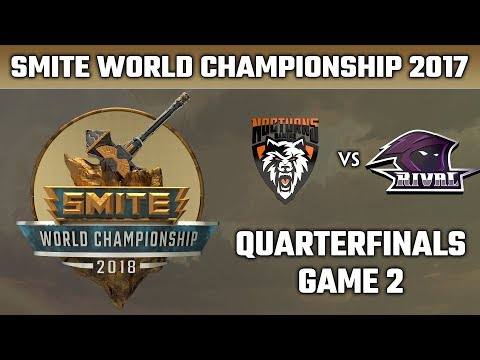 SMITE World Championship 2018: Quarterfinals - Nocturns Gaming vs. Team RivaL (Game 2)