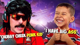 DrDisRespect Plays with a Very Naughty Kid on Fortnite   Best DrDisRespect Moments