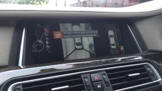BMW 740Li Park Assist Retrofitted