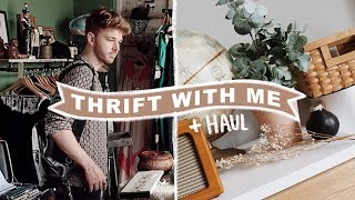 Thrift With Me (Home Decor) + HUGE THRIFT HAUL | Lone Fox