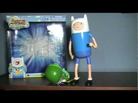 Adventure Time: 10 Inch Deluxe Finn with Changing Faces Figure Review