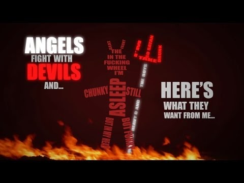 Eminem - Rap God Typography