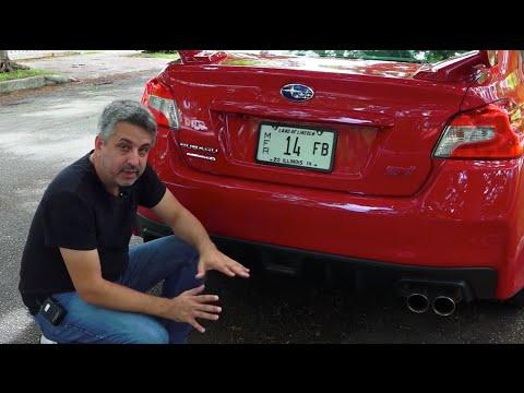 2015 Subaru WRX STI por las calles de Miami