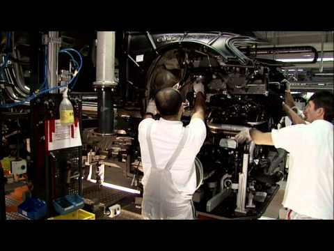 2012 Audi A6 Production footage