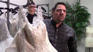 "Dad does more than say ""yes to the dress"" for daughter's wedding"