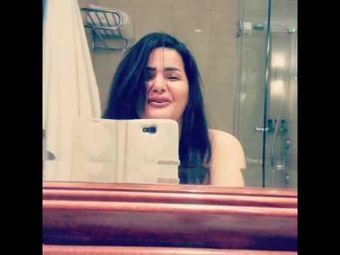 سما المصرى فى الحمام وتقول انا شعرى منكوش عشان انا فى الحمام وانا بحبكم اوى thumbnail