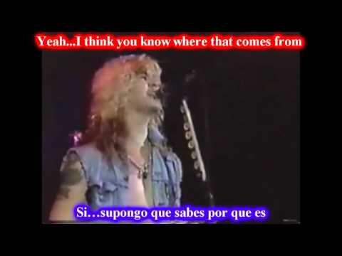 Guns N Roses - So Fine subtitulado ( español - ingles )
