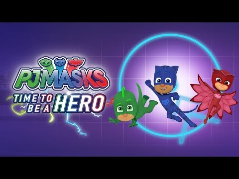 PJ Masks: Time To Be A Hero APK Cover