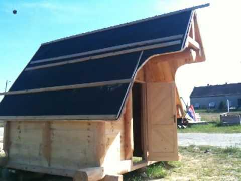 Drvena Kuća unutrašnjost -- Wooden home --Velebit