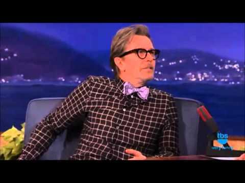 Gary Oldman - Conan 7/22/2014