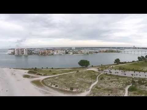 Clearwater Pass & Sand Key Park | DJI Phantom 2 Vision PLUS (P2V+)