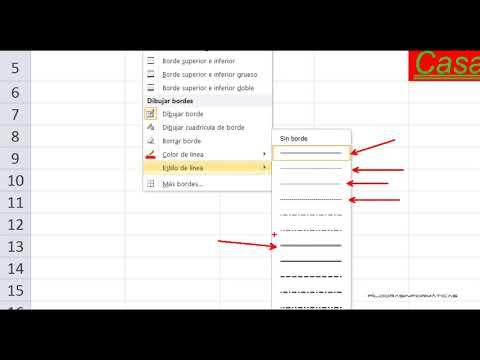 Curso Excel 2010 Básico. Video 5. Formatos I