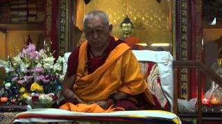 Lama Zopa Rinpoche | Emptiness of the Truely Existing I | 01 30 2012