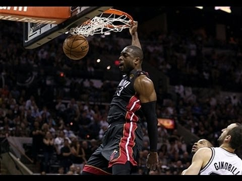 Dwyane Wade Steals for the BIG Throwdown