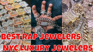 Best Rap Jewelers: NYC Luxury Jewelry Collection