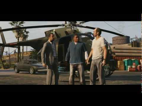 Grand Theft Auto V GTA 5 Trailer (PC Download HD)