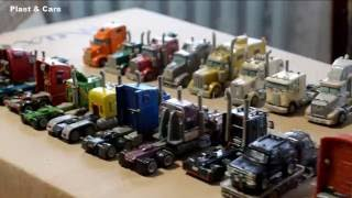 Trucks model collection! Cool Big Rig Collection
