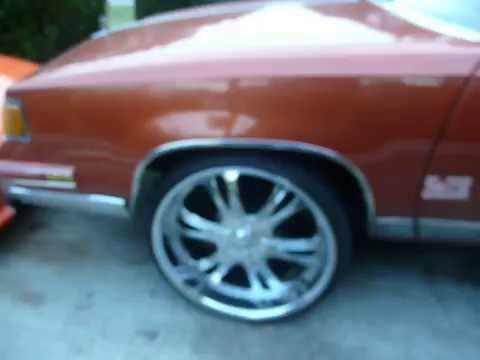 cutlass supreme on 24's Music Videos