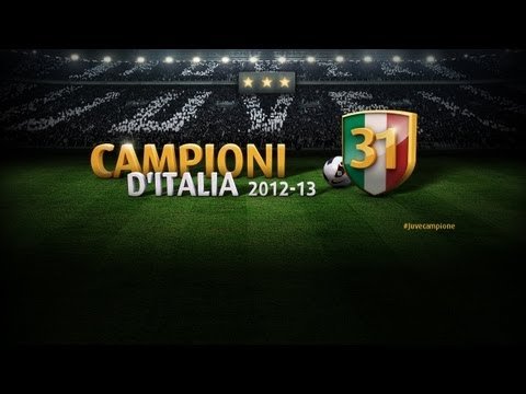 La Juventus &Atilde;&uml; Campione d'Italia - Champions of Italy